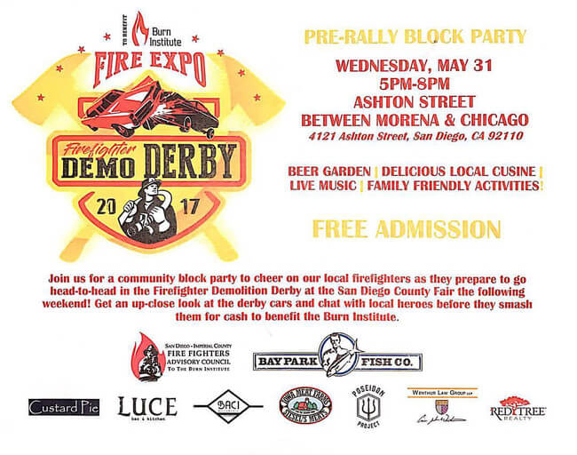 Demo Derby flyer